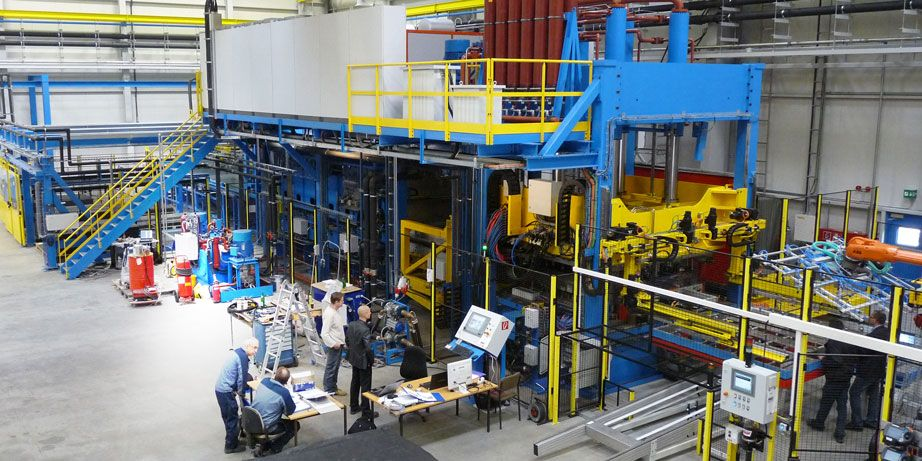 composites forming turnkey production line