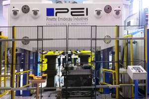 ecs short stroke press fast RTM system pinette pei