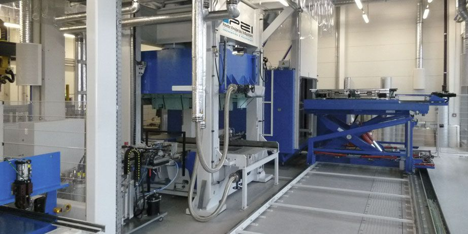 solutions de production : lignes rtm, hp rtm pour moulage composites
