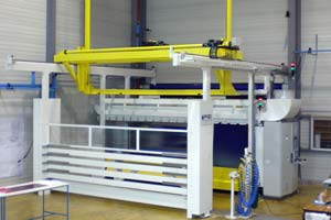 hot drape forming equipment pinette pei preforming solutions