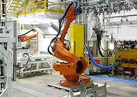 hydraulic equipment and systems : automated forming line