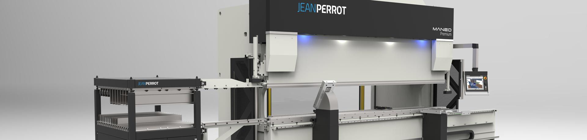 JEAN PERROT, a brand of PINETTE P.E.I. industrial engineering group, designs, manufactures and supplies sheet metal processing equipment : press brakes, automated robotic bending cells, shears, tube & profile benders, rolling machines, notching machines, punching machines…