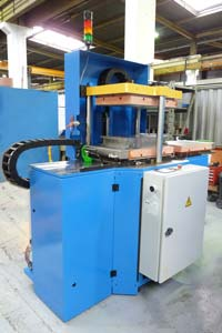 small hydraulic press for prepreg production pinette pei