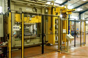thermoplastics automated stamping line pinette pei