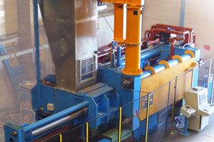 waste extrusion system for waste sorting recycling by Pinette PEI