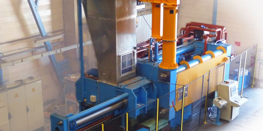 waste extrusion system for waste sorting & recycling by Pinette PEI